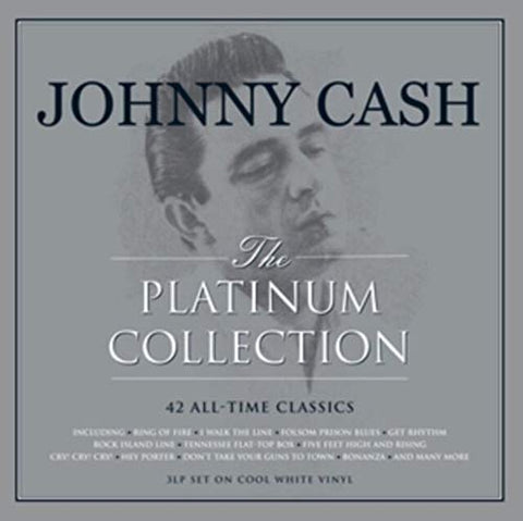 Johnny Cash The Platinum Collection [3LP Gatefold Coloured
