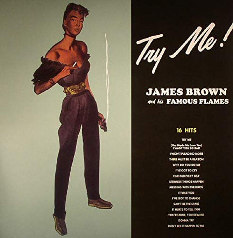 James Brown Try Me! LP 0889397556624 Worldwide Shipping
