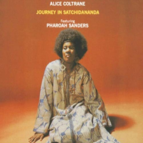 Alice Coltrane JOURNEY IN SATCHIDANANDA LP 0011105022811