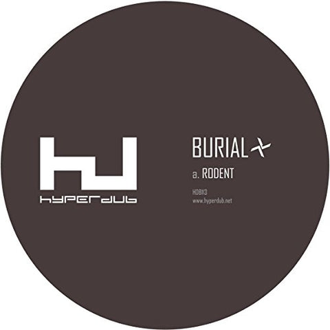 Burial Rodent [12 VINYL] 12 5055869558495 Worldwide Shipping