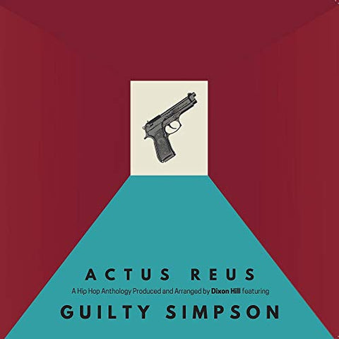 Guilty Simpson & Dixon Hill Actus Reus LP 0659696506015