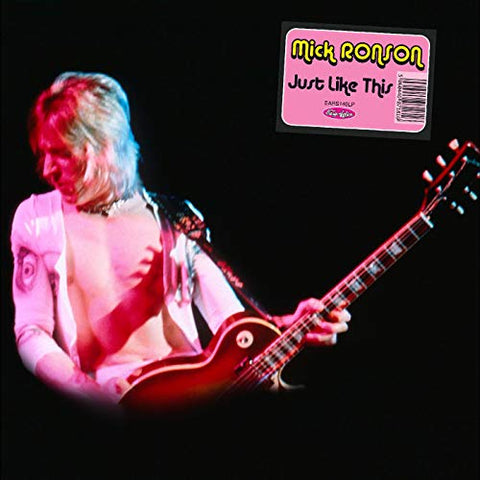 Mick Ronson Just Like This LP 5060446071816 Worldwide