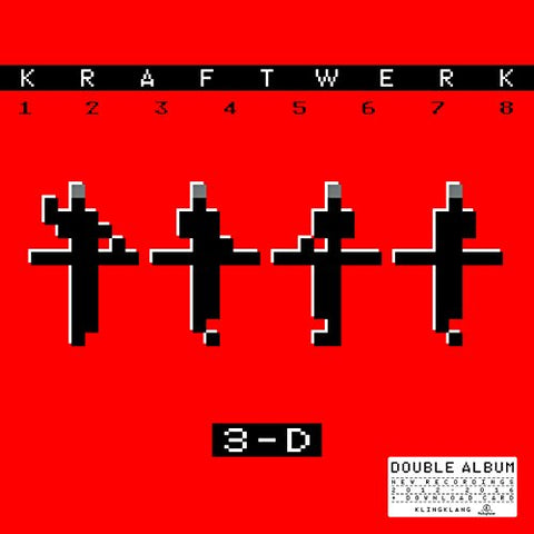 Kraftwerk 3-D The Catalogue 2LP 0190295924942 Worldwide