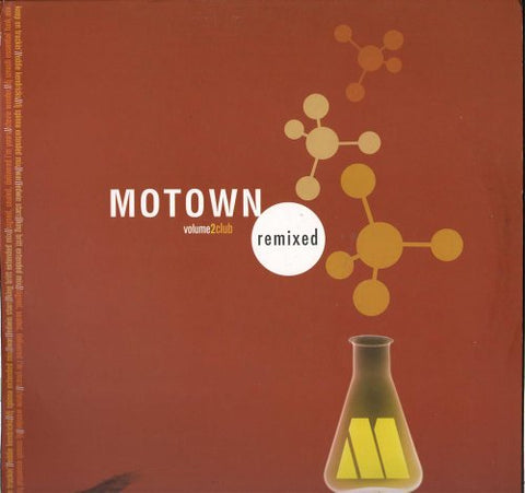 Various Artists Motown Remixed Club LP 0602498813454