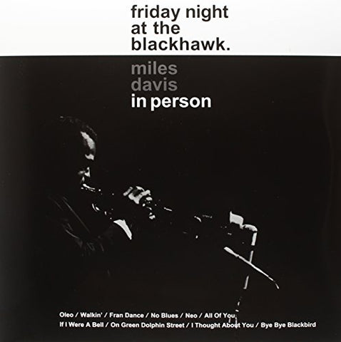 Miles Davis In Person Friday Night At The Blackhawk(Dlp) 2LP