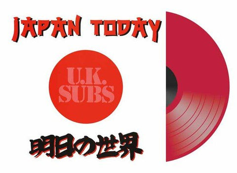 Uk Subs Japan Today LP 0803341444423 Worldwide Shipping