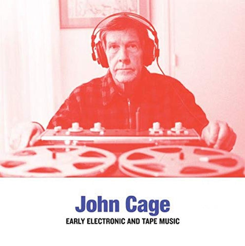John Cage Early Electronic & Tape Music LP 5411867333616