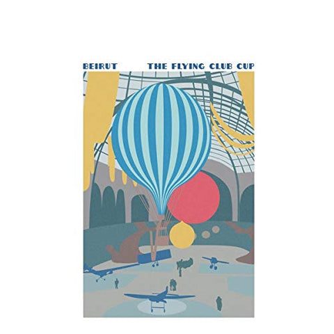 Beirut The Flying Club Cup LP 0656605365411 Worldwide