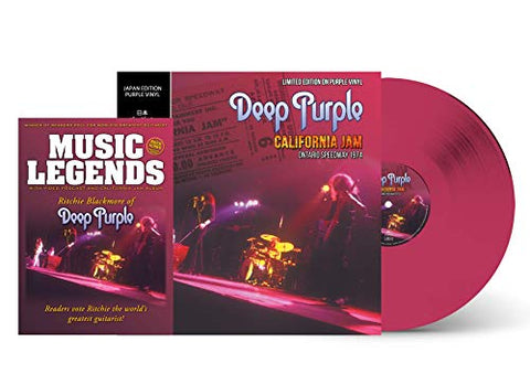 Deep Purple DEEP PURPLE CALIFORNIA JAM - PURPLE VINYL -