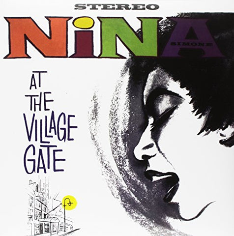 Nina Simone At the Village Gate LP 0889397218317 Worldwide