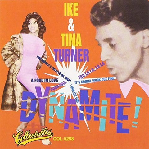 Ike & Tina Turner Dynamite! LP 0889397219659 Worldwide
