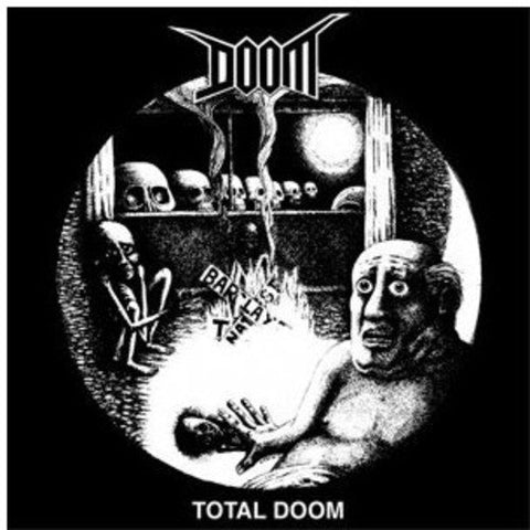 Doom Total Doom 2LP 0801056850119 Worldwide Shipping