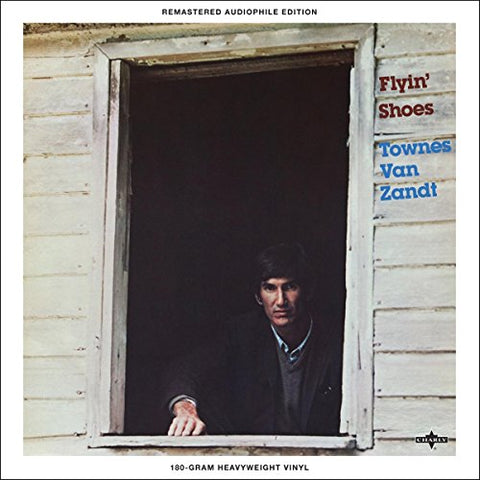 Townes Van Zandt Flyin' Shoes LP 0803415819614 Worldwide