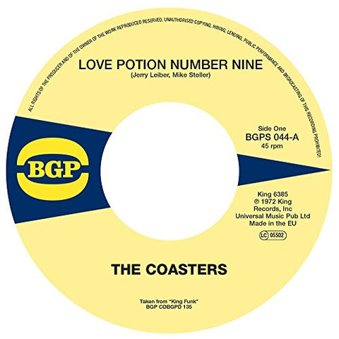 Coasters Love Potion Number Nine / Cool Jerk LP