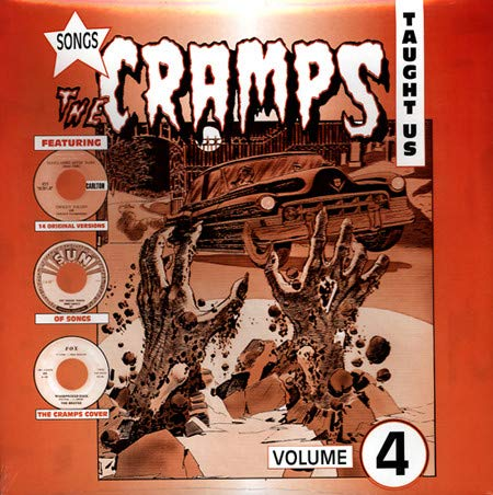 Cramps SONGS THE CRAMPS TAUGHT. LP 5031841215051 Worldwide