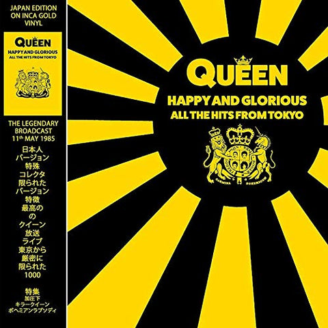 Queen Happy & Glorious All the Hits from Tokyo (Vinyl Gold