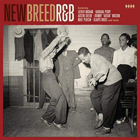 Various Artists New Breed R&B LP 0029667006811 Worldwide