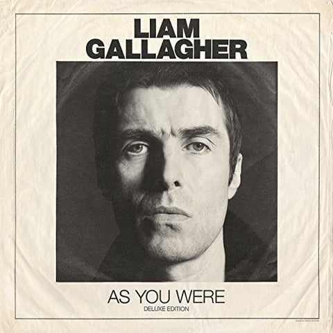 Liam Gallagher As You Were LP 0190295664305 Worldwide