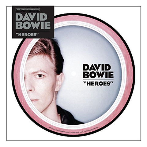 David Bowie Heroes - 40th Anniversary Picture Disc [7 Vinyl]