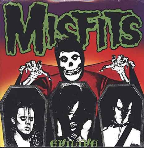 Misfits Evil Live LP 0017046190817 Worldwide Shipping