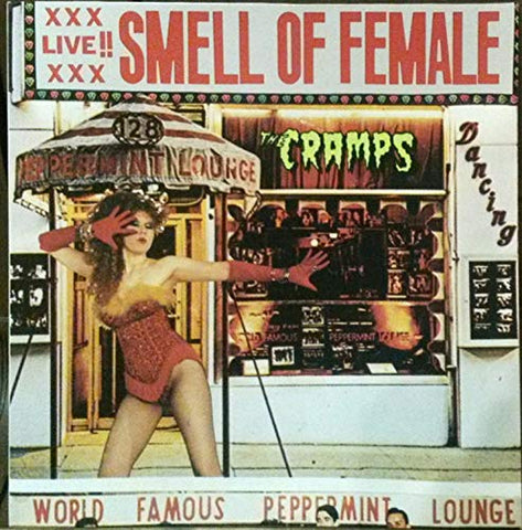 The Cramps Smell Of Female LP 0029667040617 Worldwide
