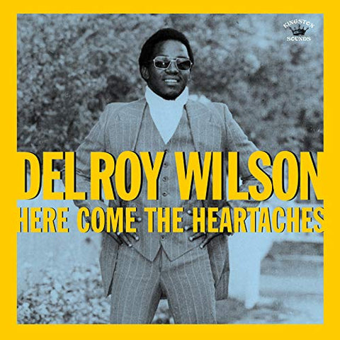 Delroy Wilson Here Comes The Heartaches LP 5060135762346