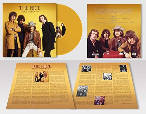 Nice Live Sweden '67 (VINYL) LP 5053792501830 Worldwide