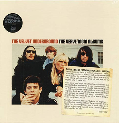 Velvet Underground The Verve/MGM Albums 5-LP Deluxe Box Set