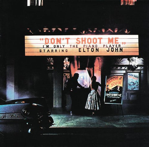 Elton John Don't Shoot Me I'm Only The Piano Player LP