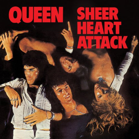 Queen Sheer Heart Attack LP 0602547202680 Worldwide Shipping