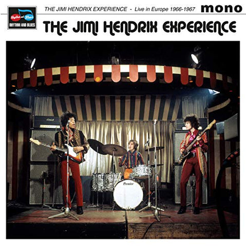 Jimi Hendrix Experience Live in Europe 1966-1967 LP