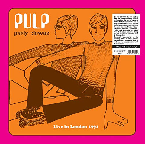 Pulp Party Clowns LP 0889397106447 Worldwide Shipping