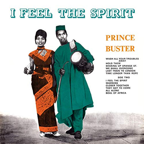Prince Buster I Feel The Spirit LP 8592735001978 Worldwide