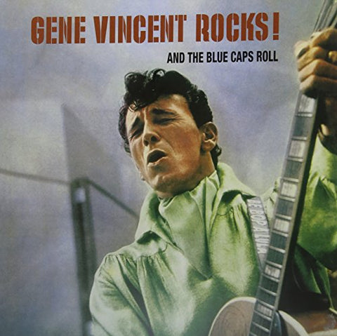 Gene Vincent Gene Vincent Rocks! & the Blue LP 0889397219802