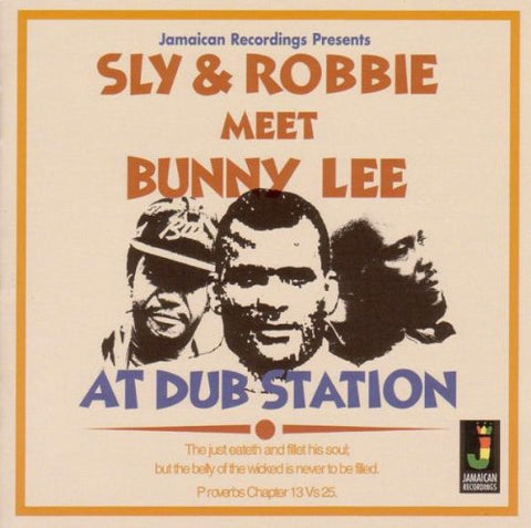 Sly & Robbie Meet Bunny Lee At Dub Station LP 5036848001232