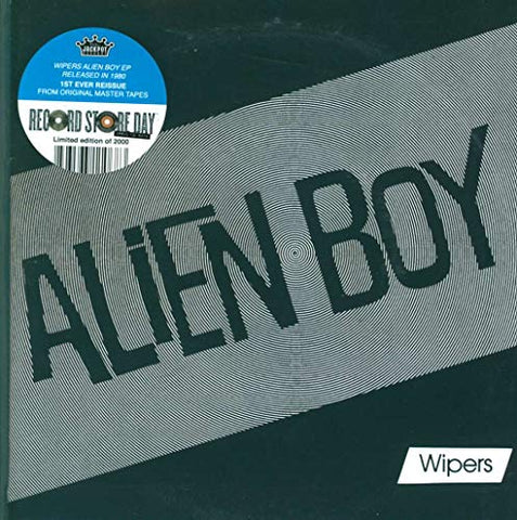 Wipers Alien Boy [Vinyl Single] 7 0843563110683 Worldwide