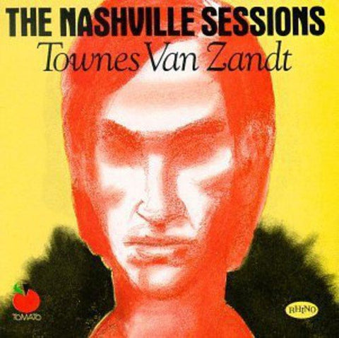 Townes Van Zandt The Nashville Sessions LP 0803415817610