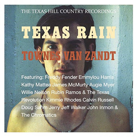 Townes Van Zandt Texas Rain LP 0803415819812 Worldwide