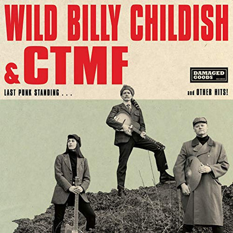 Wild Billy Childish & Ctmf Last Punk Standing LP
