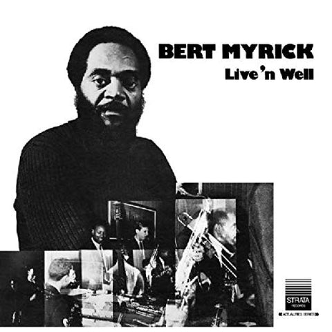 Bert Myrick LIVE 'N WELL LP 0730003141812 Worldwide Shipping