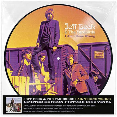 Jeff Beck & The Yardbirds I Ain't Done Wrong (Picture Disc)