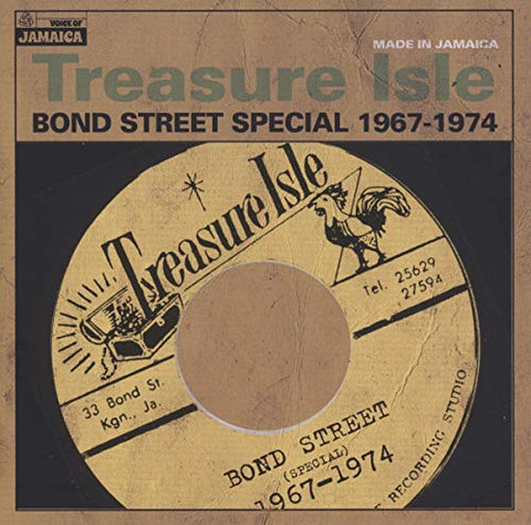 Various Artists Treasure Isle - Bond Street Special 1967-74