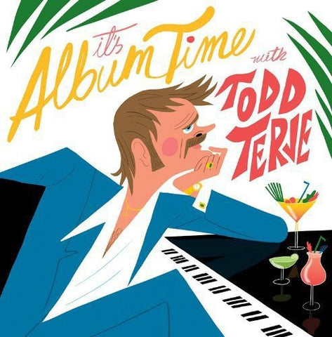 Todd Terje It's Album Time 2LP 5060186922089 Worldwide