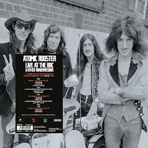 Atomic Rooster On Air Live At The BBC & Other Transmissions