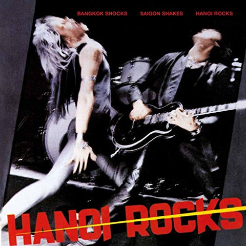 Hanoi Rocks Bangkok Shocks Saigon Shakes LP 0803341502192