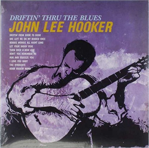 John Lee Hooker Driftin' Thru The Blues LP 0889397314507
