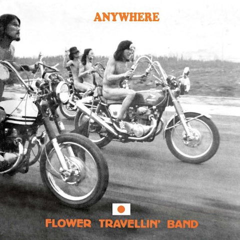 Flower Travellin Band Anywhere LP 5051125305414 Worldwide