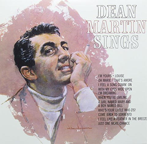 Dean Martin Dean Martin Sings LP 0889397556945 Worldwide