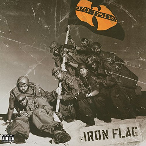 Wu-Tang Clan Iron Flag 2LP 0889854382711 Worldwide Shipping