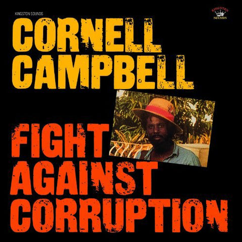 Cornel Campbell Fight Against Corruption LP 5060135761448